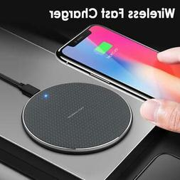 5W 10W Fast Wireless Charger For Android USB Qi Charging Pad