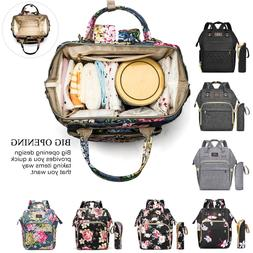 CoolBELL Large Mummy Nappy Diaper Bag Baby Travel Charging B