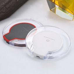 Crystal Qi Wireless Charger Charging Dock Station Pad For Mo