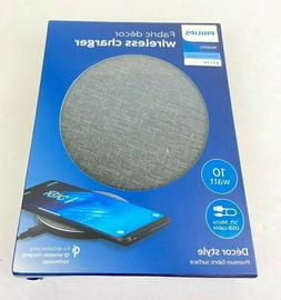 Philips Fabric Decor Surface Qi Fast Wireless Charger Chargi