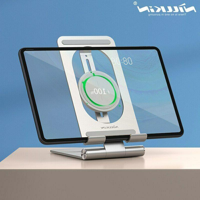 15w qi wireless charger aluminum charging pad