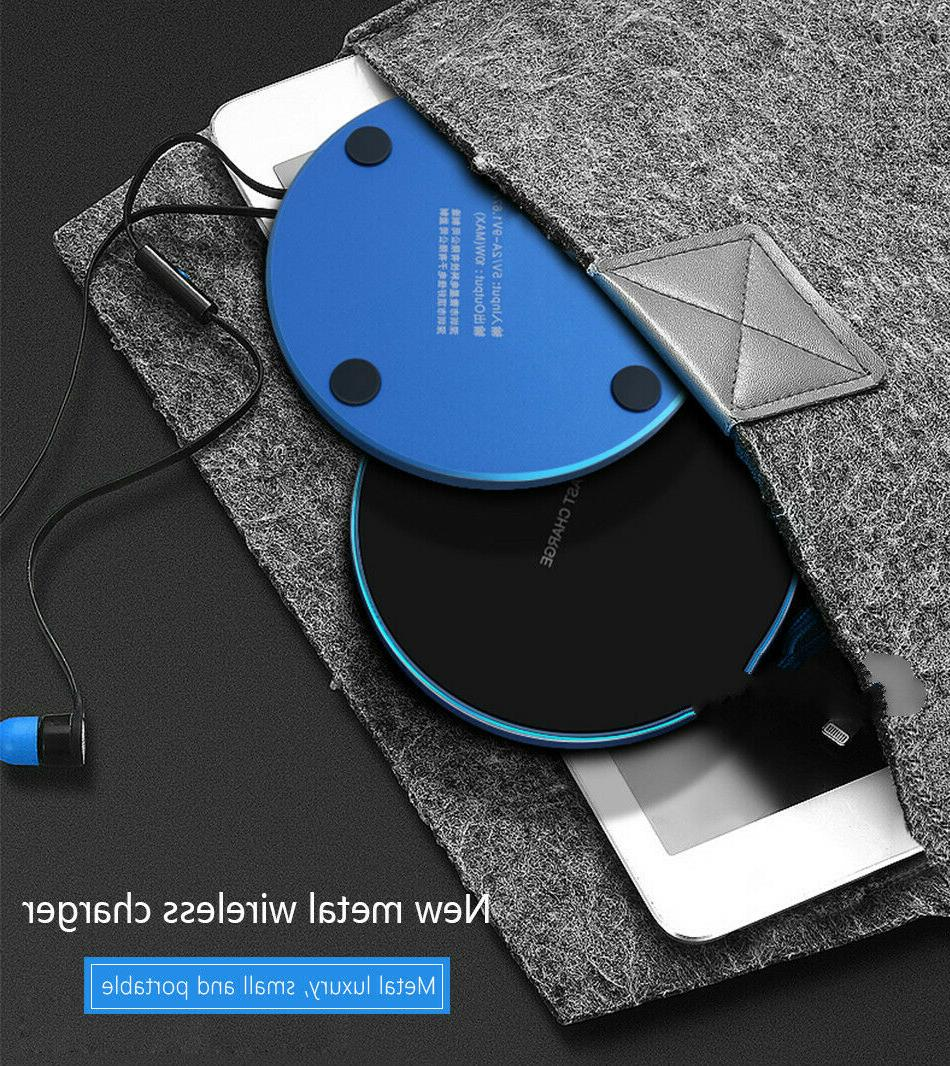 15W Qi Wireless Charger Fast Charge Pad X Pro