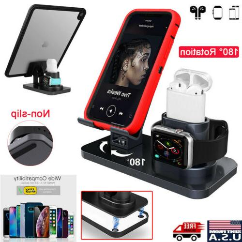 3 in 1 charging dock station stand