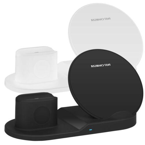 3-in-1 Qi Wireless For Airpod