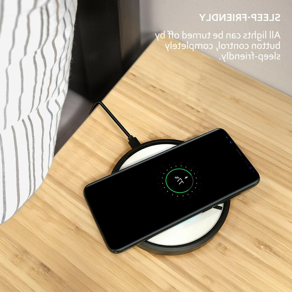 Qi Wireless Charger Charging Pad S20/+/Ultra/iPhone