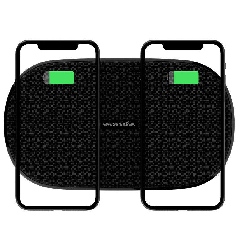 automatic multiple protection dual charging pad fast