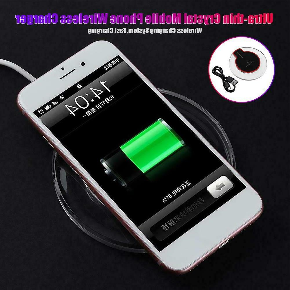Crystal Phone Wireless Adapter Pad Base iPhone