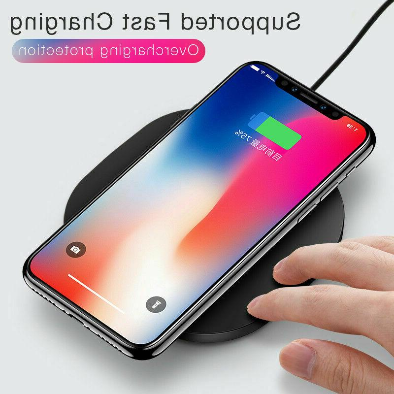 qi wireless charger charging pad for iphone