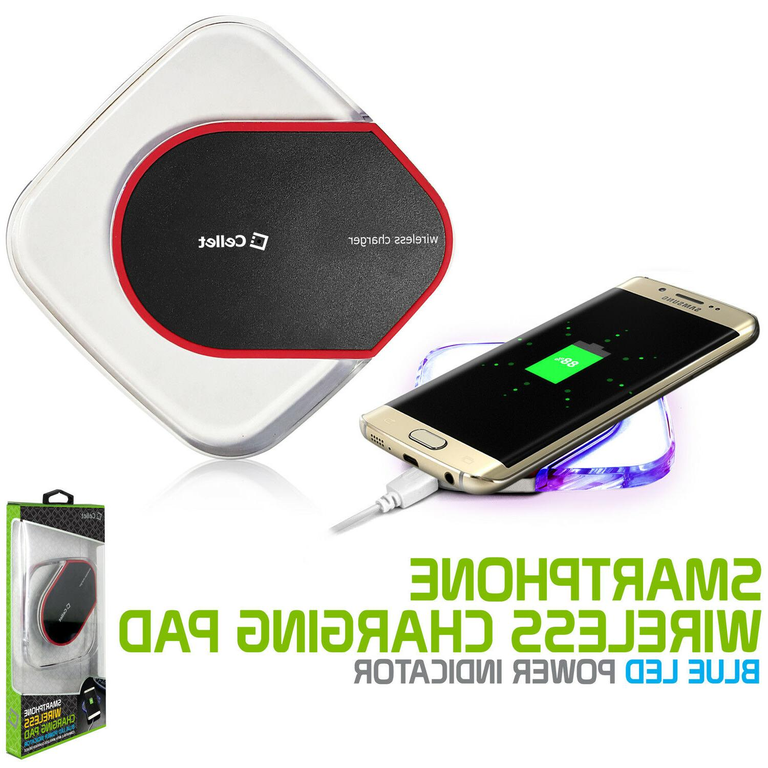 qi wireless charger pad charging dock
