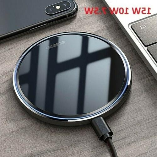 us 15w fast qi wireless charger inductive