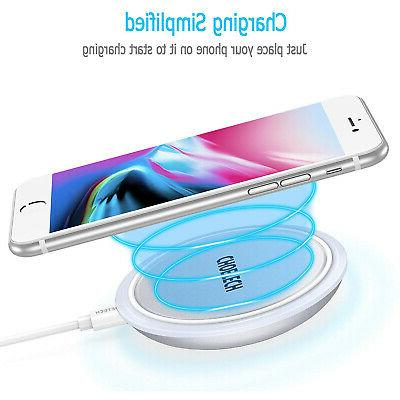 wireless cell phone charging pad for qi