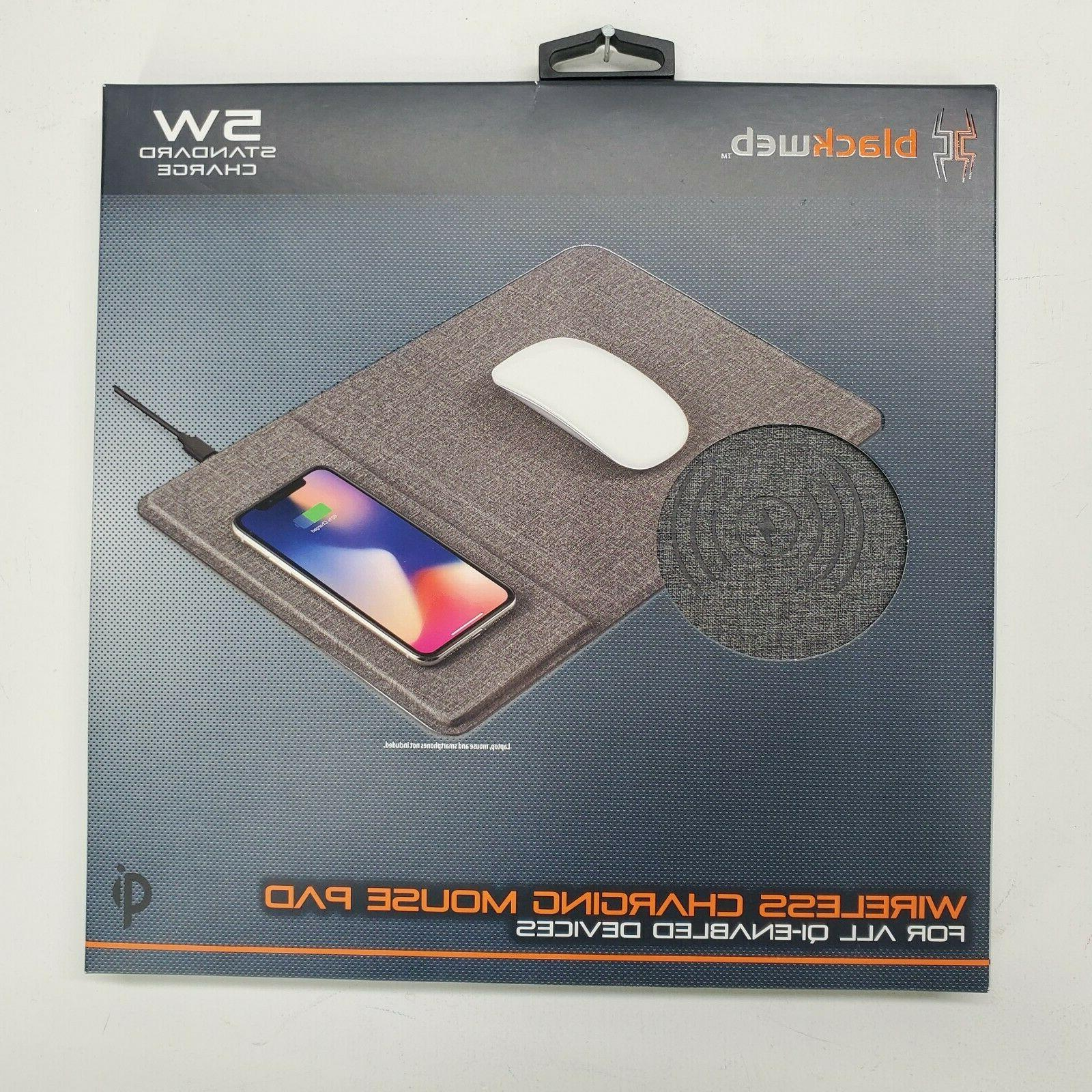 wireless charging mouse pad comfortable iphone samsung