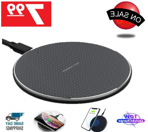 wireless fast charger charging pad dock