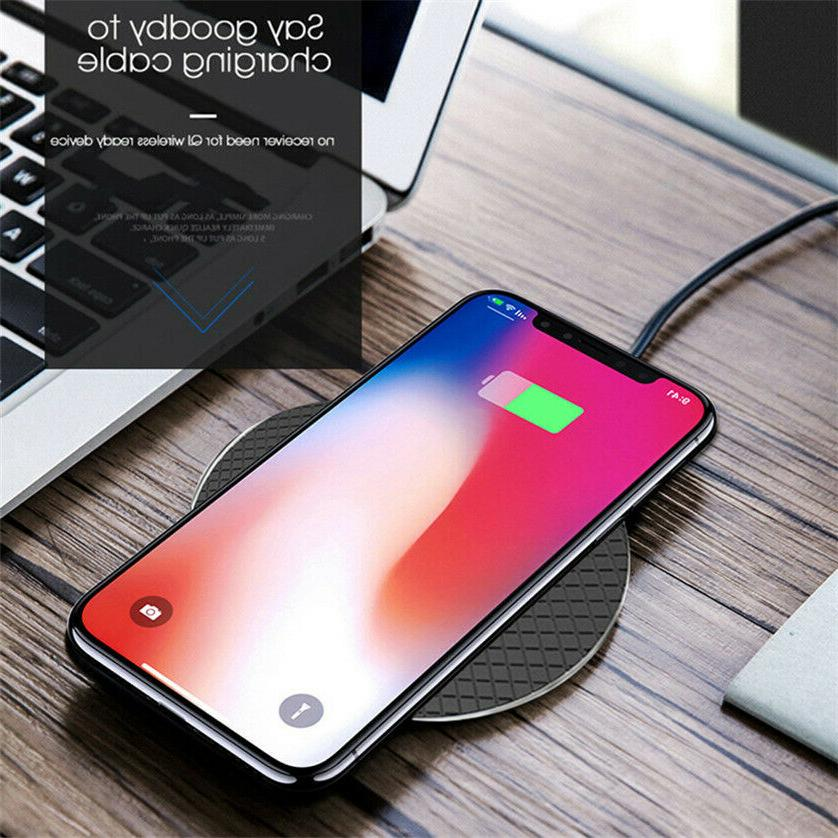 Qi Wireless Charger Charging Dock iPhone Samsung Phone
