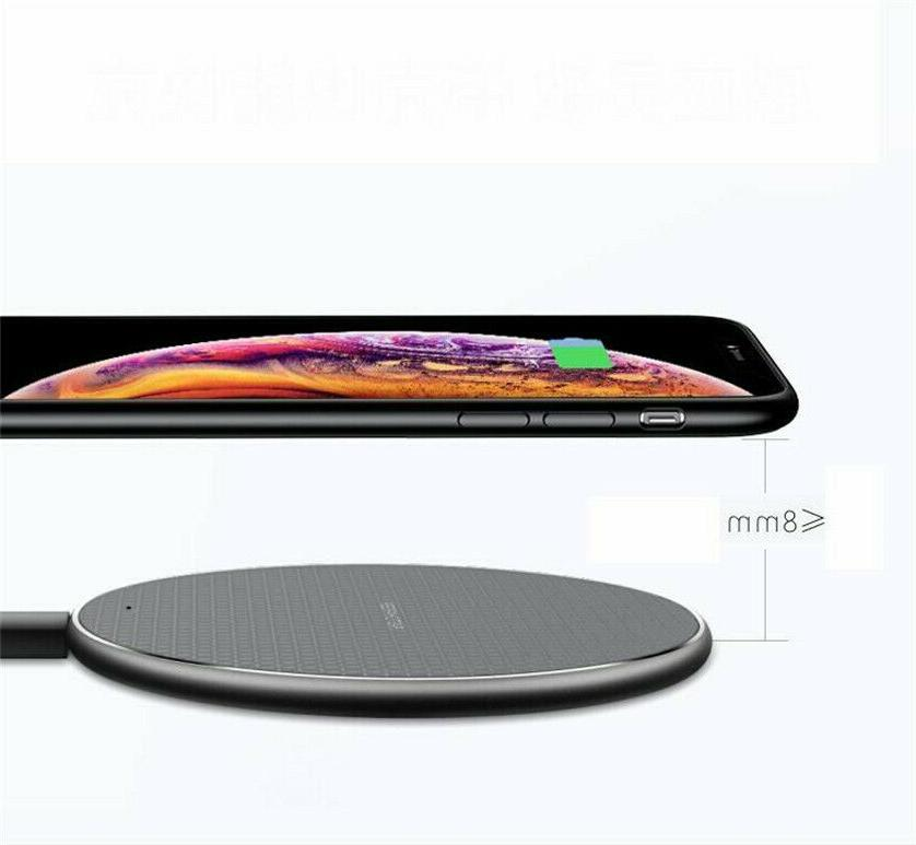 Qi Wireless Charging iPhone Android Cell Phone