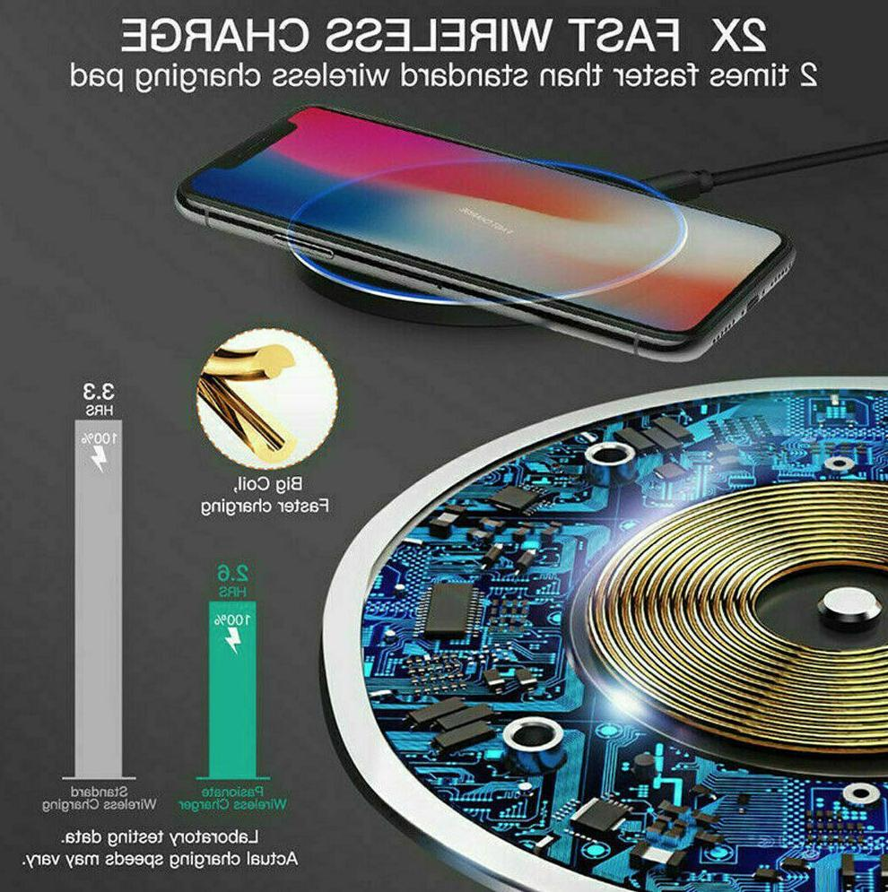 Qi Wireless Fast Charging for iPhone Cell Phone