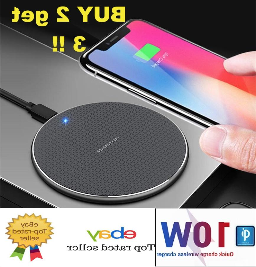 wireless fast charger pad for iphone samsung