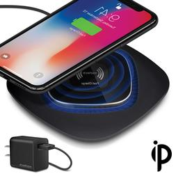Naztech Power Pad Qi 10W Wireless Fast Charger w/Quick Charg