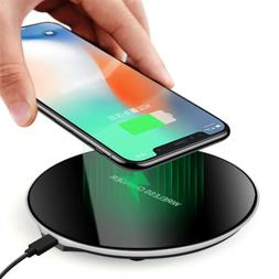 Qi Induction Wireless Charger Charging Stand Pad For i Phone