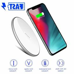 Qi Wireless Car Phone Charger Fast Charging Pad for iPhone s