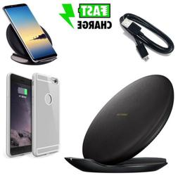 Qi Wireless Fast Charger Charging Pad Case For Samsung Galax