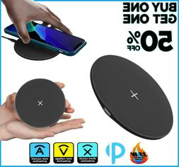 Qi Wireless Fast Charger Charging Pad Dock for Samsung iPhon