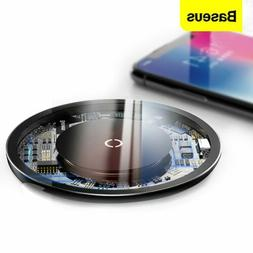 Baseus Qi Wireless Phone Charger Fast Charging Pad for iPhon