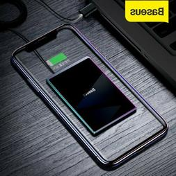 Baseus Ultra Thin 15W Qi Wireless Charger Fast Charging Pad
