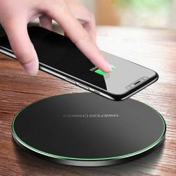 us 10w metal qi wireless charger fast