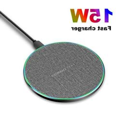 us 15w qi wireless charger charging pad