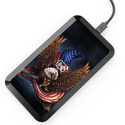 US Flag EAGLE Wireless Charging Pad,Mat for iPhone X/8/8 Plu