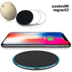 US Slim Qi Wireless Fast Charger Charging Pad For iPhone 11
