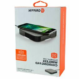 Genuine Griffin Qi Fast Wireless Charging Pad 15W for Apple