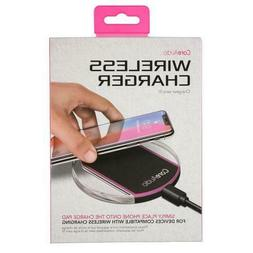 CoreAudio Wireless Charger Pad Charging Dock Station - Pink