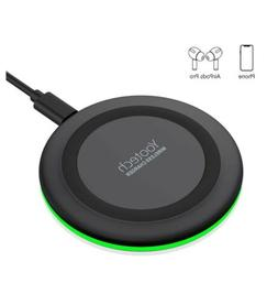 Yootech Wireless Charger,Qi-Certified 10W Max Fast Wireless