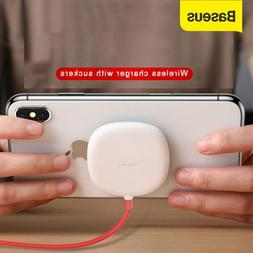 Baseus Wireless Charger Spider Suction Cup Charging Pad for