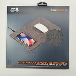Blackweb Wireless Charging Mouse Pad Comfortable iPhone Sams