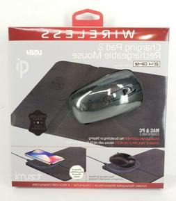 wireless charging pad and rechargeable mouse wireless