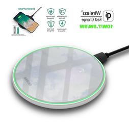 Wireless Charging Pad Fast Charge Qi