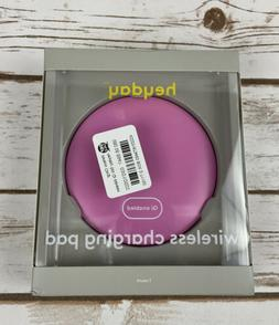 Heyday Wireless Charging Pad Qi Enabled Pink